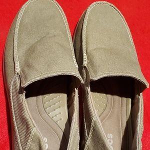 Mens Crocs loafer/slip on shoes size 13